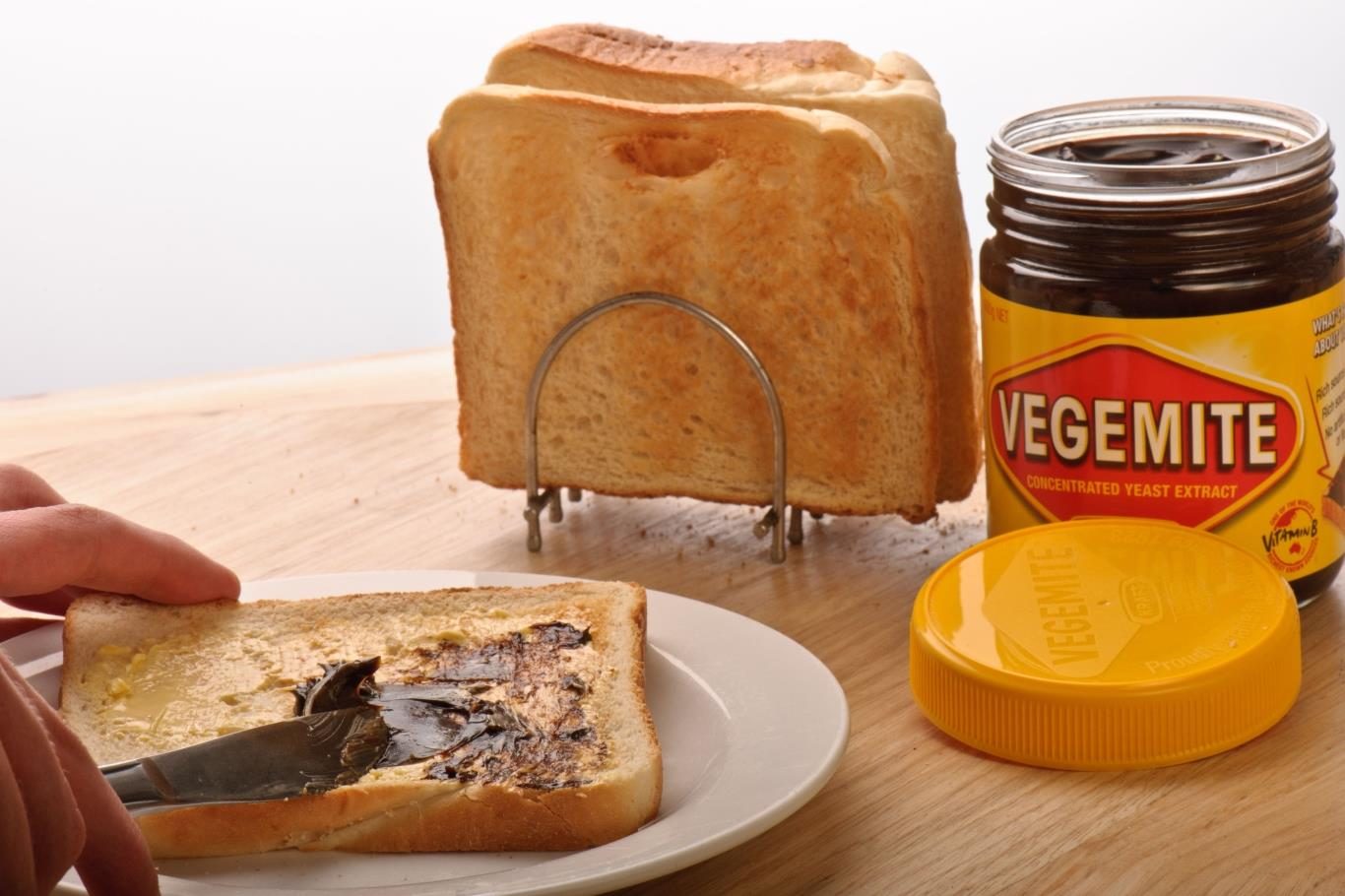 BUTTERED TOAST WITH MARMITE, ENGLAND