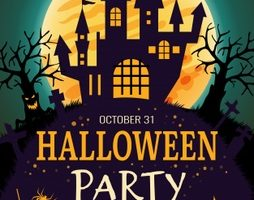 Background Halloween đẹp cho dân design, marketing
